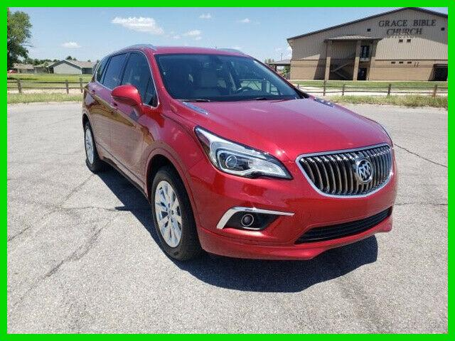 Buick Envision 2017 Red