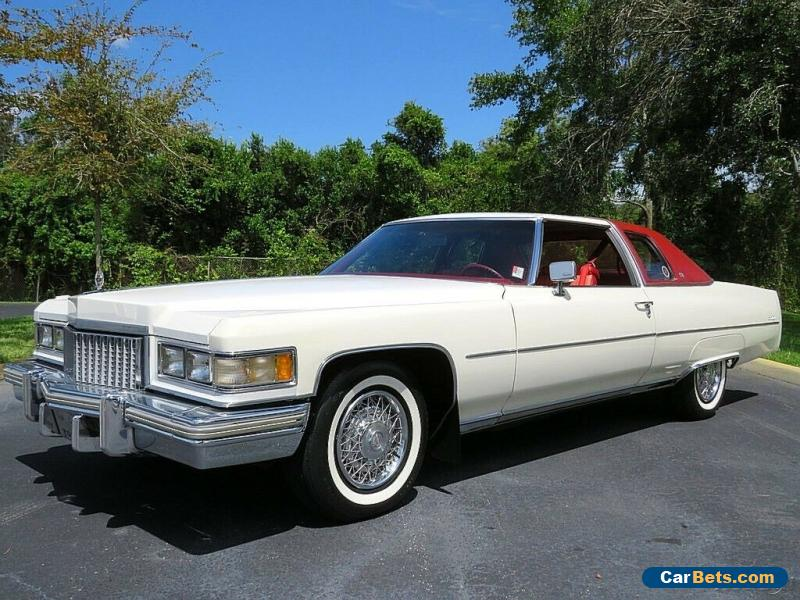 1975 Cadillac DeVille Coupe Low Mileage Show Car! Must See! 500 V8 for Sale
