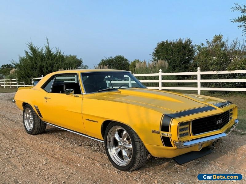 "1969 Chevrolet Camaro Resto-Mod, 4 Wheel Disc, 18"" Wheels, Must See for Sale"