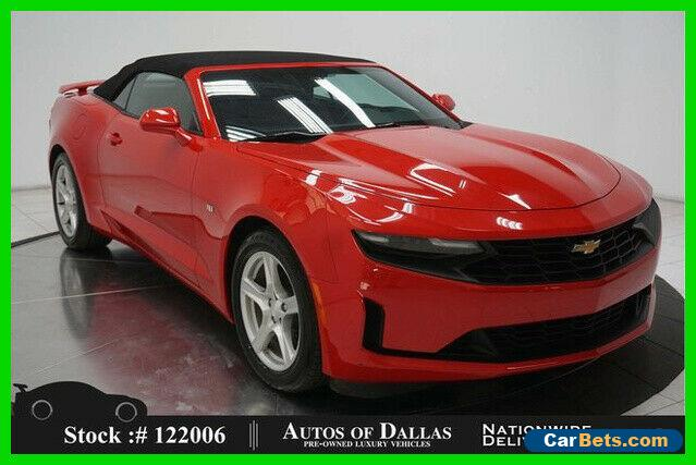 2019 Chevrolet Camaro 1LT Convertible CAM,KEY-GO,18IN WHLS,SPOILER for Sale