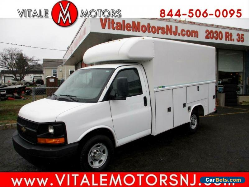 2012 Chevrolet Express 3500,, 10' ENCLOSED SERVICE BODY,, SRW for Sale