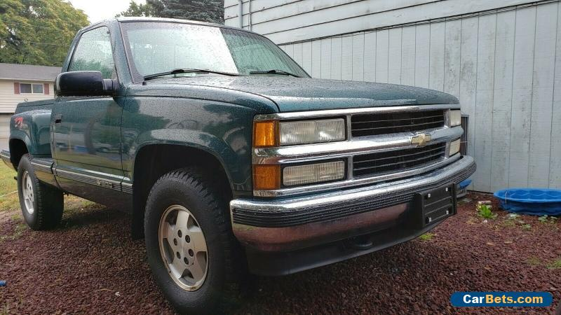1995 Chevrolet Silverado 1500 Z71 short stepside manual 5 speeds for Sale