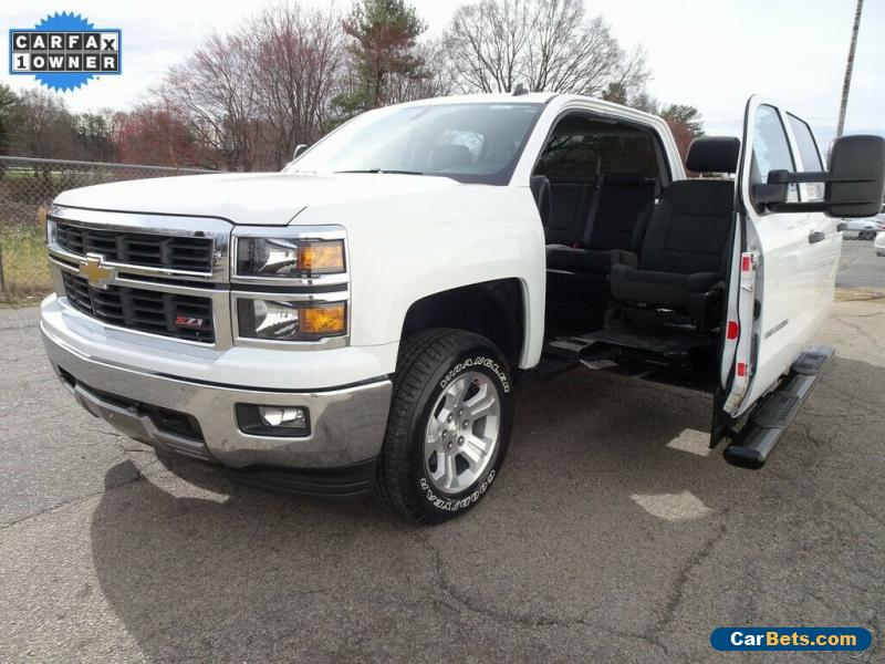 2014 Chevrolet Silverado 1500 Handicap Truck for Sale