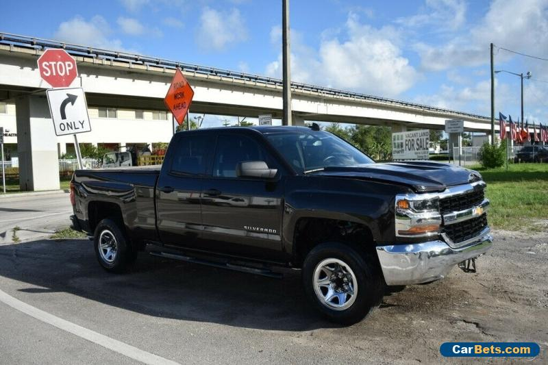 2018 Chevrolet Silverado 1500 4x2 Work Truck 4dr Double Cab 6.5 ft. SB for Sale