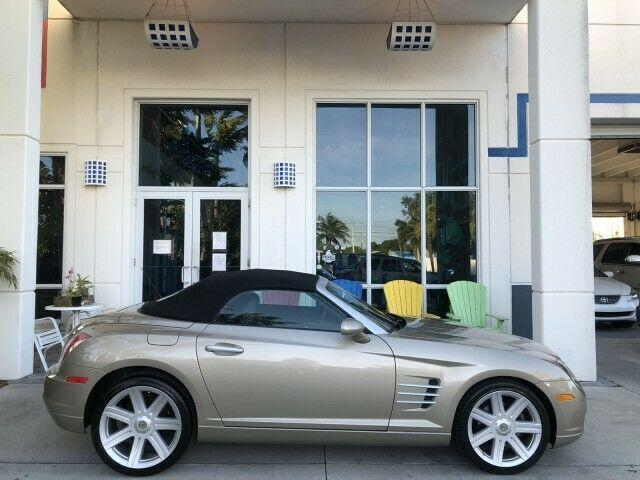 2008 Chrysler Crossfire Limited, convertible, black leather interior, super clean for Sale