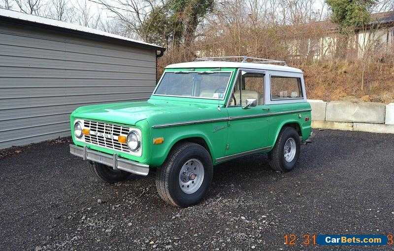 1972 Ford Bronco SPORT for Sale