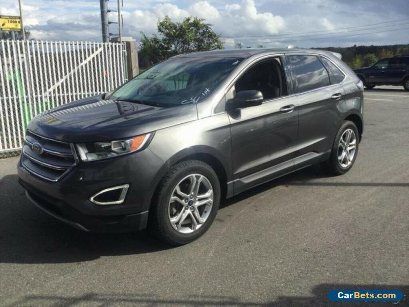 2016 Ford Edge Titanium 4dr Crossover for Sale