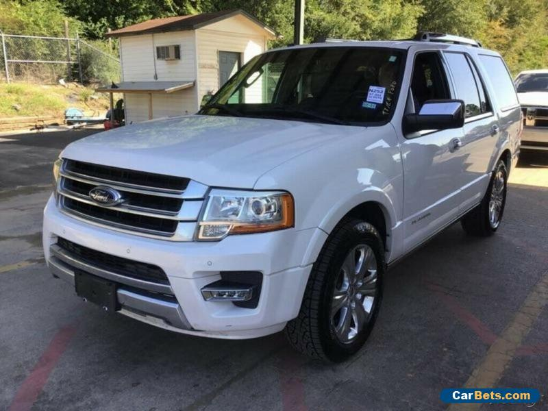 2016 Ford Expedition 4x2 Platinum 4dr SUV for Sale