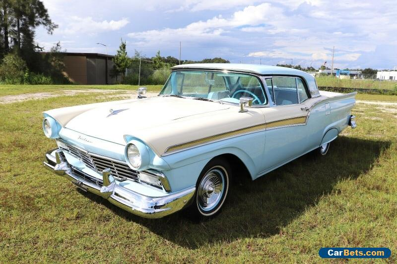 1957 Ford Fairlane 500 Skyliner Convertible 312 Restored 100+ HD Pics for Sale