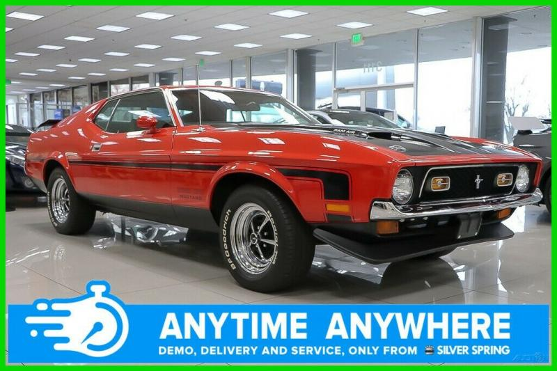 Ford Mustang 1971 Red