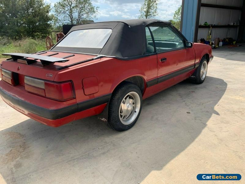 1988 Ford Mustang for Sale