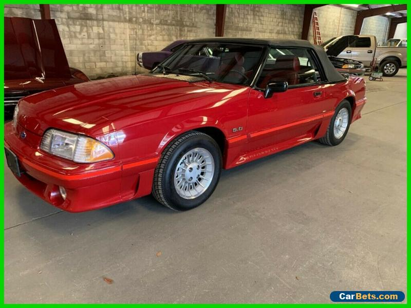 1988 Ford Mustang GT 2dr Convertible for Sale