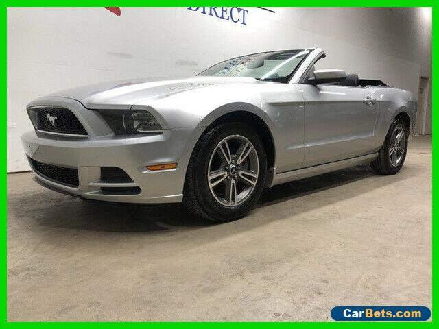 2013 Ford Mustang V6 Premium Convertible Leather Bluetooth Shaker FR for Sale