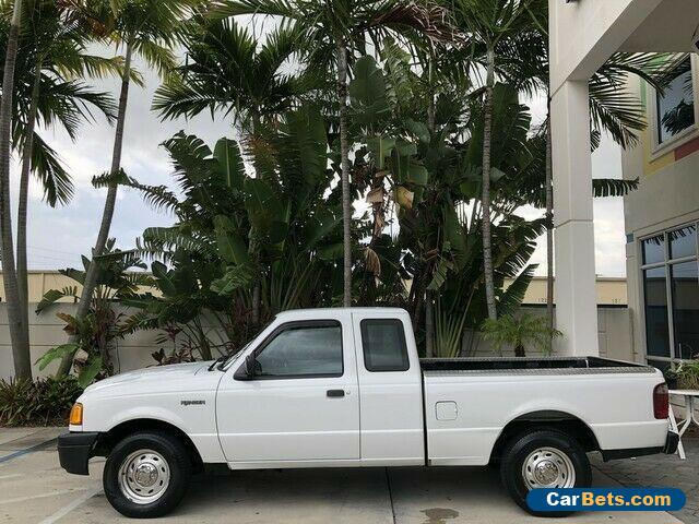 2004 Ford Ranger XL Cloth Seats 5 Speed Manual Transmission for Sale