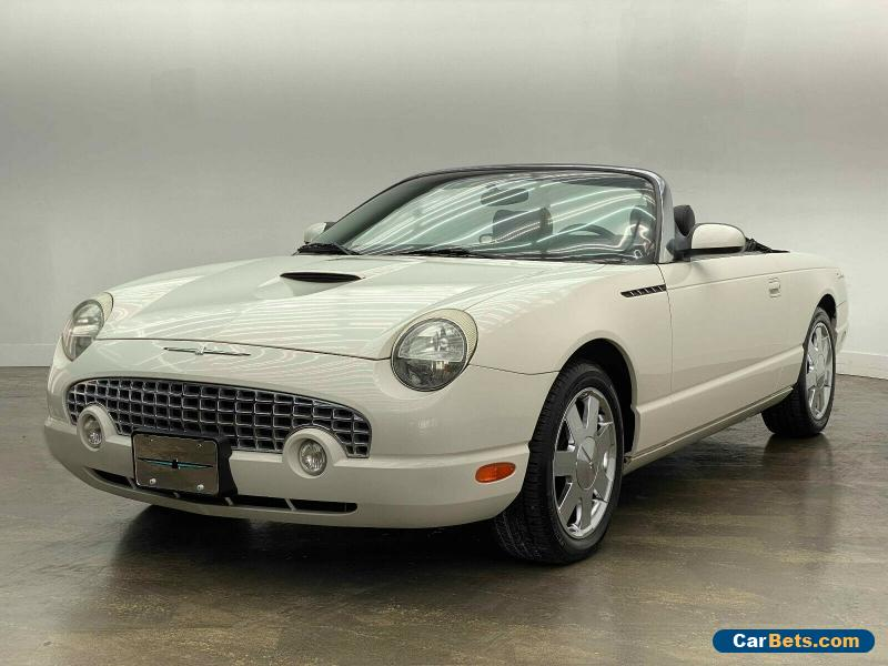 2002 Ford Thunderbird Convertible for Sale