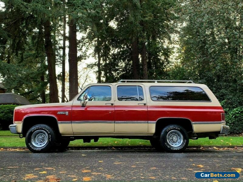 1986 GMC Suburban Chevy, Seirra, Suburban, 4x4, 6.2L, 2500,SUV,Other for Sale