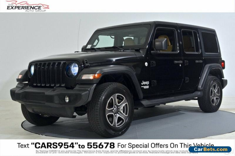 2018 Jeep Wrangler Unlimited Sport 4x4 Automatic for Sale