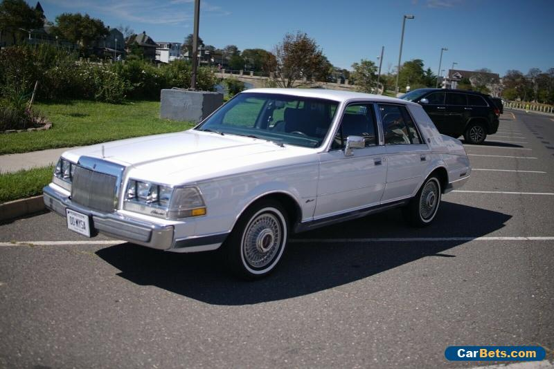 1987 Lincoln Continental for Sale