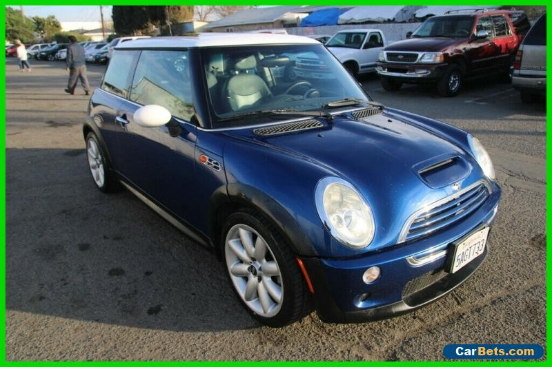 2003 Mini Cooper S 2dr Supercharged Hatchback for Sale
