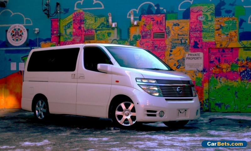 2003 Nissan Van Elgrand for Sale