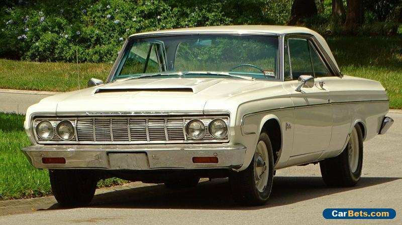 1964 Plymouth Belvedere MAX WEDGE CLONE for Sale