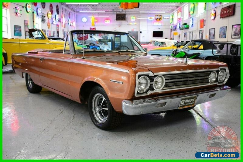 1967 Plymouth Belvedere II for Sale