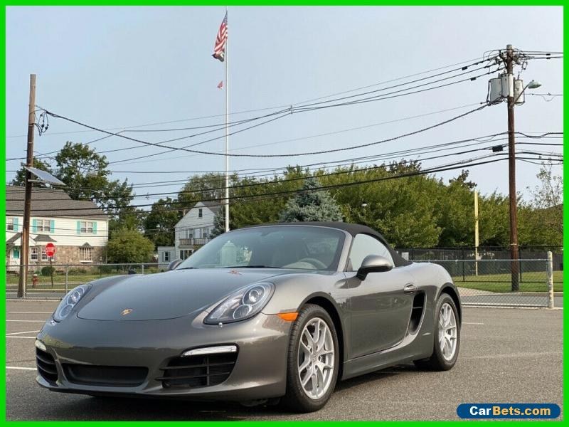 2015 Porsche Boxster RWD CONVERTIBLE for Sale