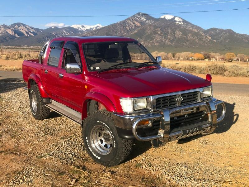 Toyota Hilux 1995 Red